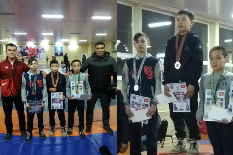 Акмолинский борец завоевал «серебро» международного турнира в Кыргызстане