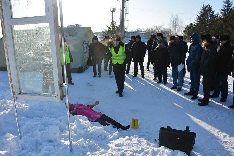Действия преступника отрабатывали полицейские четырех областей в СКО