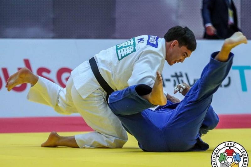 Ислам Бозбаев завоевал «серебро» на Grand Slam в Париже