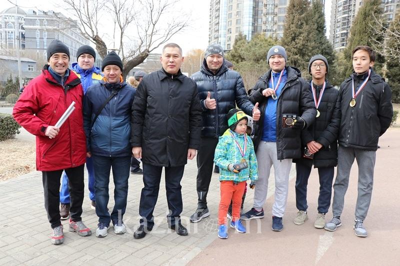 Международную легкоатлетическую эстафету провело в Пекине Посольство РК