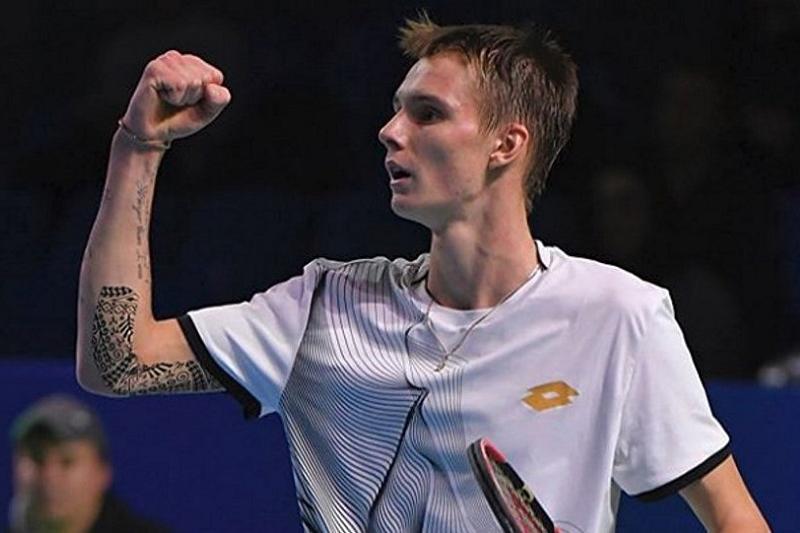 Kazakhstan's Alexander Bublik gets Challenger title win in Budapest