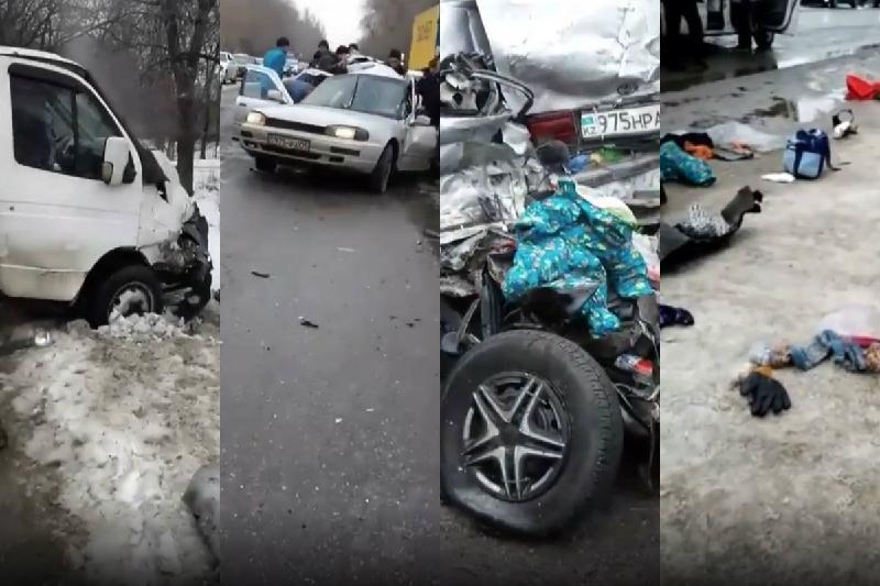 Три человека погибли в ДТП на Кульджинской трассе