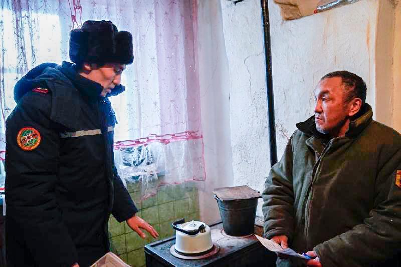 Многодетные семьи взяли на учет в ДЧС Акмолинской области