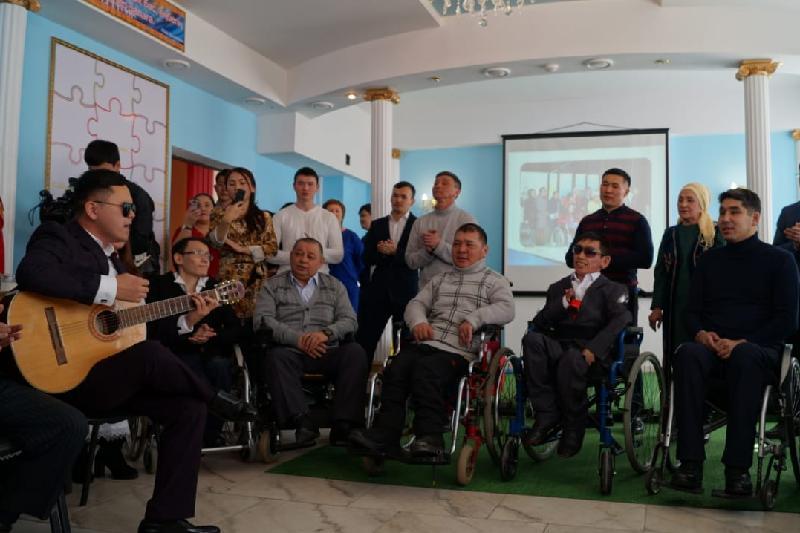 Коворкинг-центр для лиц с ограниченными возможностями открыли в Актобе