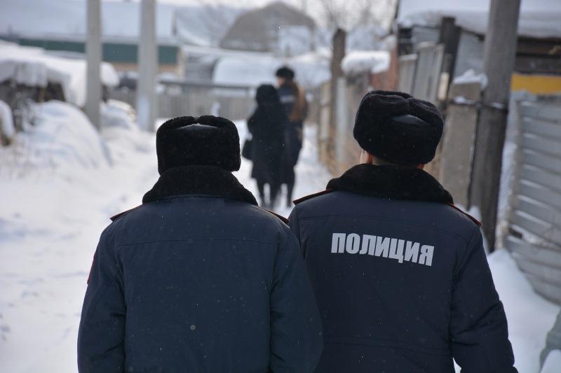 Неблагополучные семьи проверяют полицейские в Северном Казахстане
