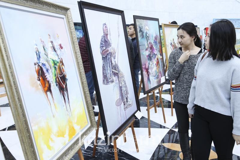 Конкурс художников и скульпторов проходит в Астане