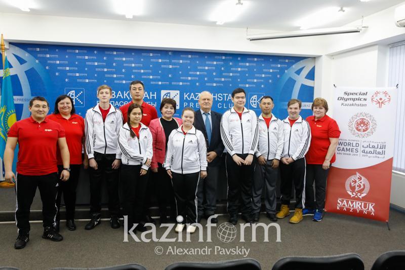 Казахстанские спортсмены готовятся к Олимпиаде для особенных людей