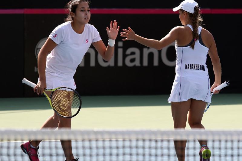 С кем сыграют казахстанские теннисистки в плей-офф II Мировой группы  Кубка Федерации