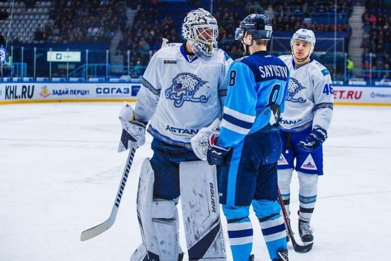 HC Barys beat Sibir at home