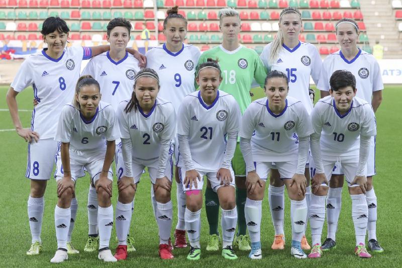 Женская сборная Казахстана по футболу готовится к «Turkish Women's Cup»