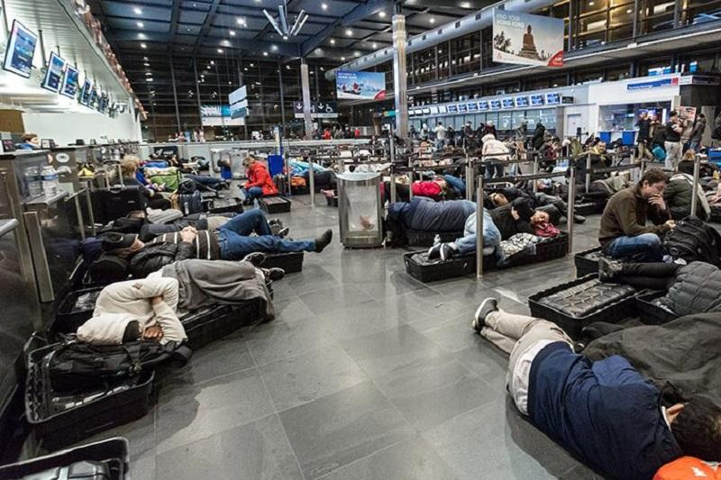 比利时境内所有机场因罢工将关闭24小时