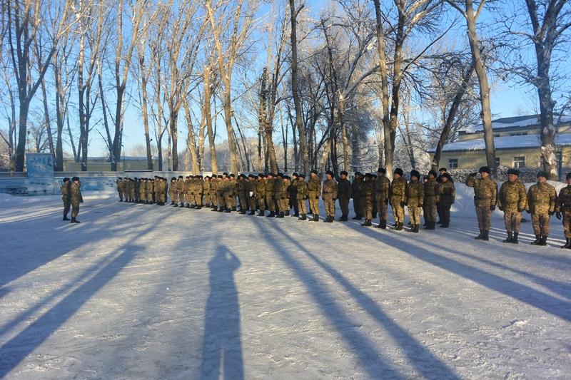 Минутой молчания почтили память Бориса Керимбаева в Вооруженных силах РК