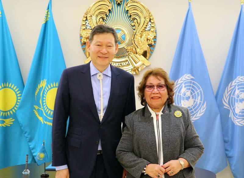 Казахстан и Маршалловы острова установили дипломатические отношения