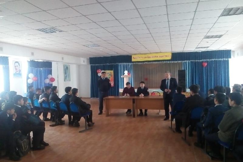 В жамбылских школах выявляют неформальных «лидеров»