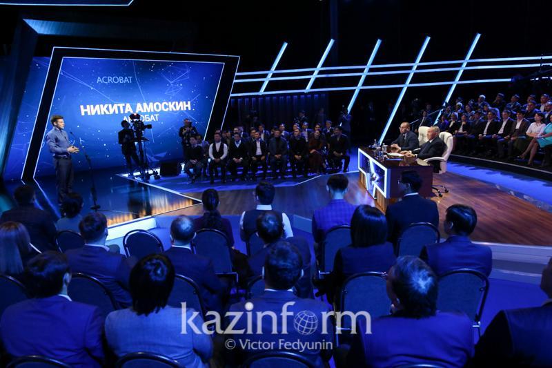 Нурсултан Назарбаев рассказал, как воспитывает молодежь
