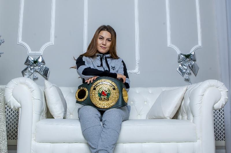 Kazakh pro boxer Sharipova sets sights on Tokyo Olympics