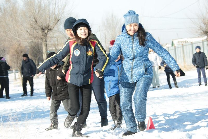 Дети военнослужащих приняли участие в спортивно-массовых мероприятиях  в Талдыкоргане