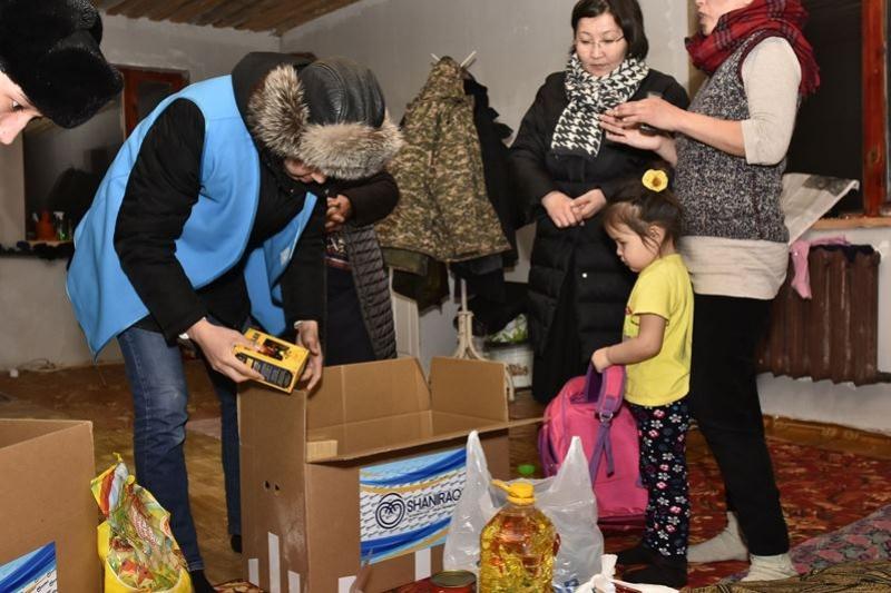 Помощь нуждающимся семьям оказывают в Актюбинской области