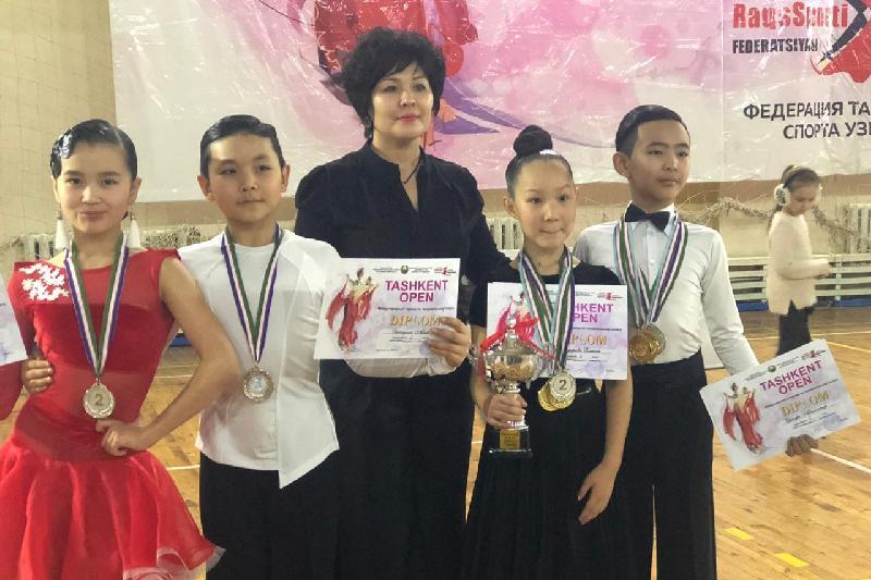 Акмолинские танцоры стали чемпионами международного турнира в Узбекистане
