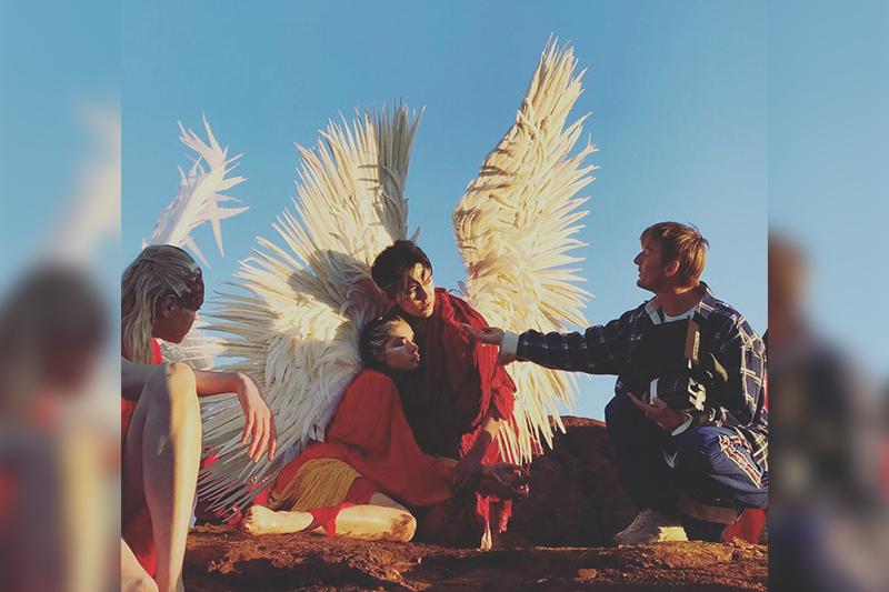 Dimash Qudaibergen shares photos from new music video set
