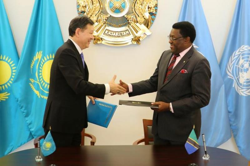 Kazakhstan, Tanzania established diplomatic relations