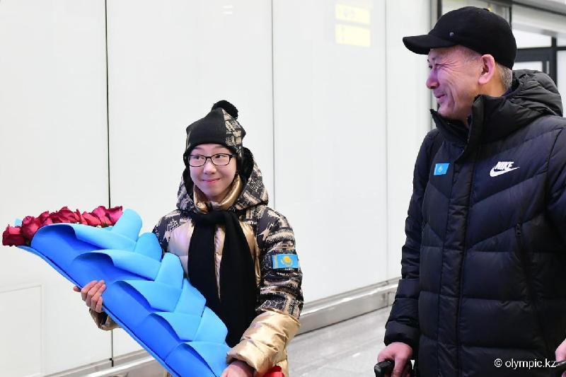 Турсынбаева вернулась в Казахстан после завоевания медали «Турнира четырех континентов»