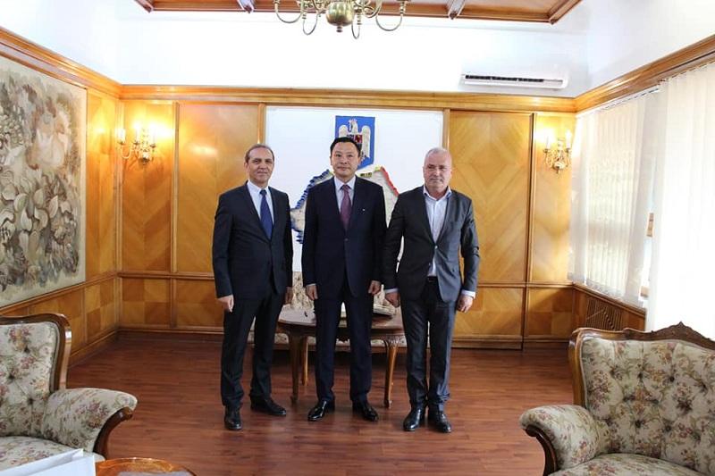 Ambassador Daulet Batrashev paid working visit to central regions of Romania