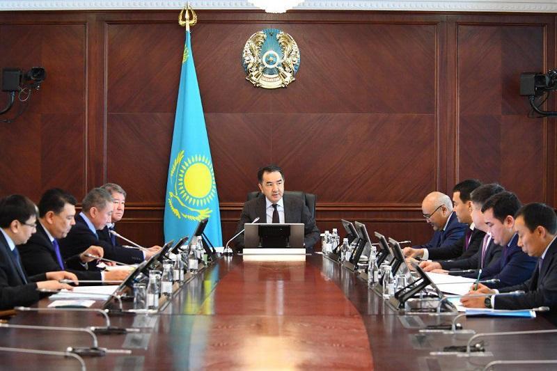 萨金塔耶夫主持召开经济问题专家委员会会议