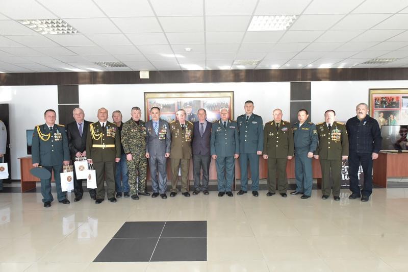 Гвардейцы чествовали ветеранов афганской войны