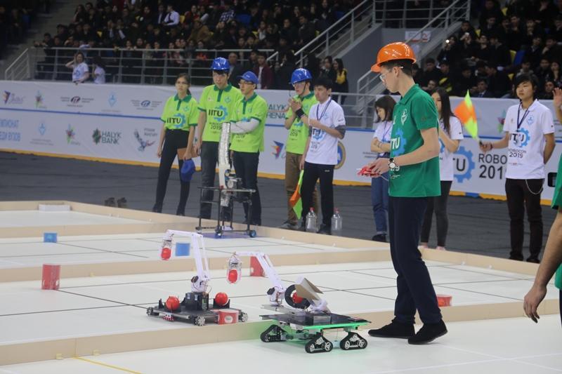 Определились победители первого чемпионата по робототехнике