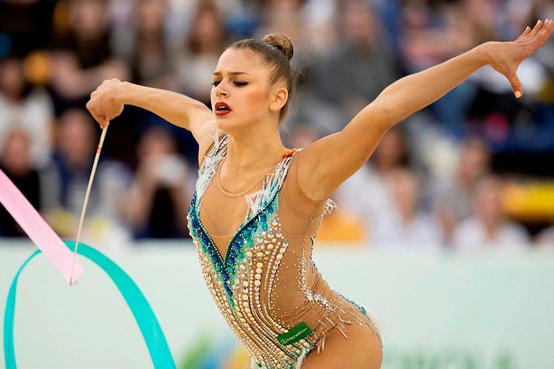 Российская гимнастка выступила на Гран-при под песню Димаша Кудайбергена
