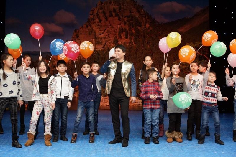 Благотворительный концерт для школьников организовали в Акмолинской области