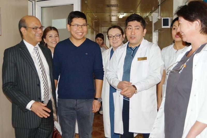 UK expert trains East Kazakhstan doctors