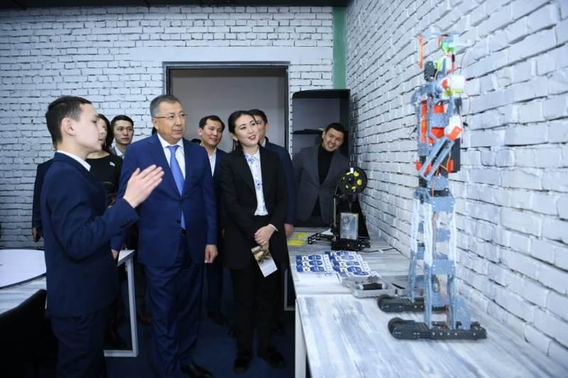 Хаб и парк в сфере ІТ заработали в Туркестане
