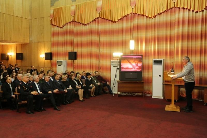 О перспективных проектах на Байконуре рассказал глава Роскосмоса