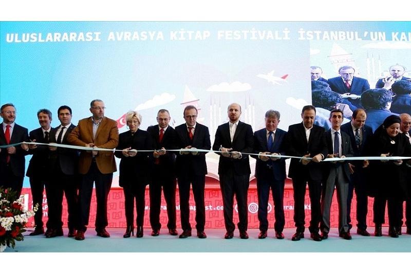 1st international Eurasia book fair opens in Istanbul