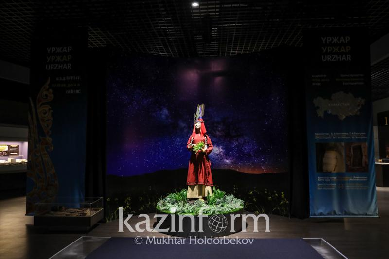 Restored Urdzhar princess on display in Astana