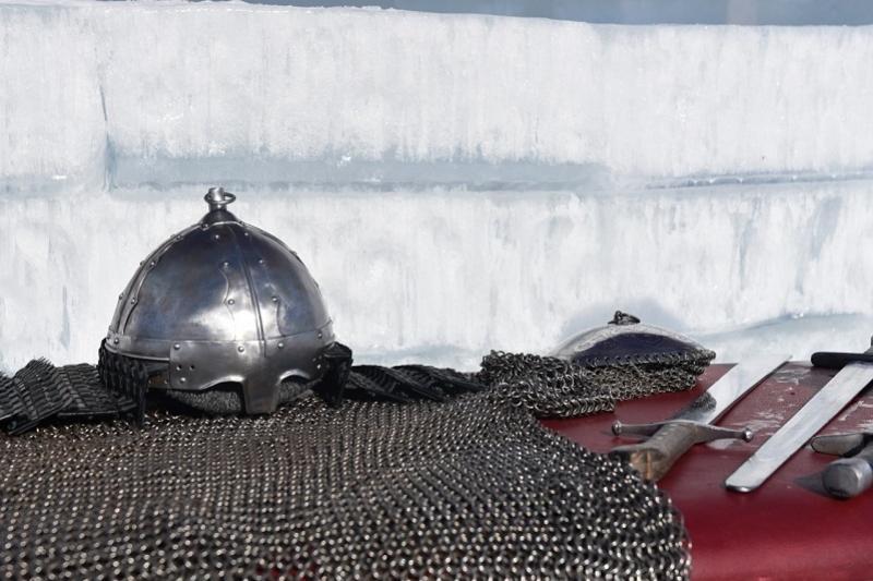 Реконструкцию средневековых боев провели в Астане
