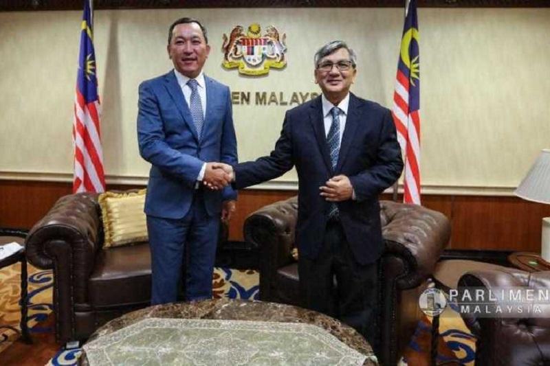 哈萨克斯坦大使会见马来西亚议长
