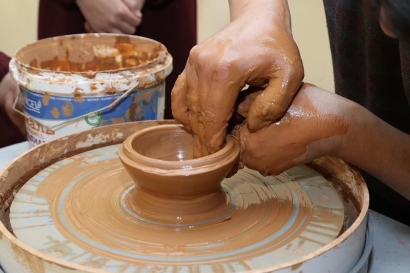 Зымыраннан шыққан от жалынына саз балшық керамикасы ғана шыдас береді