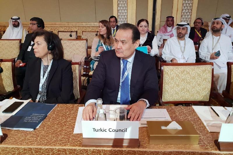 Бағдад Әміреев Әбу-Дабидегі ИЫҰ Сыртқы істер министрлері кеңесінің отырысына қатысты