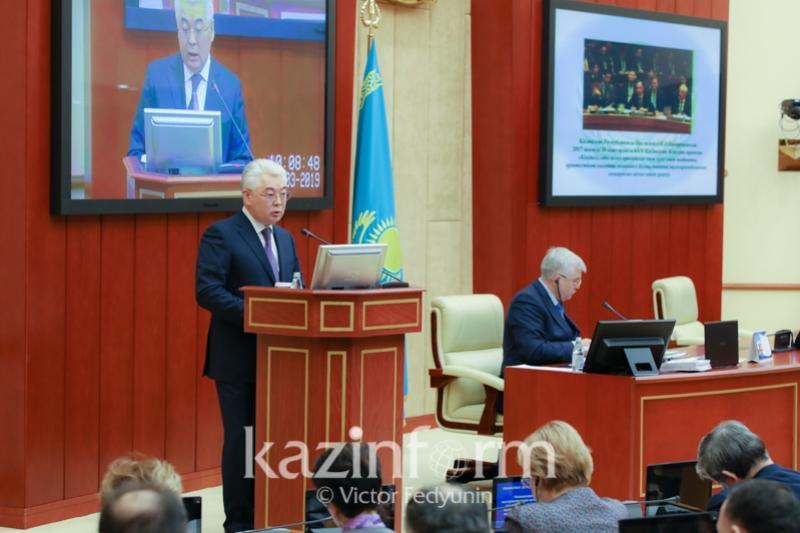 外交部长:哈萨克斯坦认真负责地履行了安理会非常任理事国职责