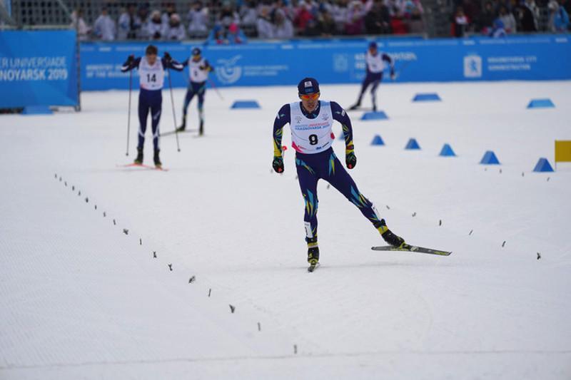 Универсиада-2019: Асет Дуйсенов завоевал серебряную медаль в лыжных гонках