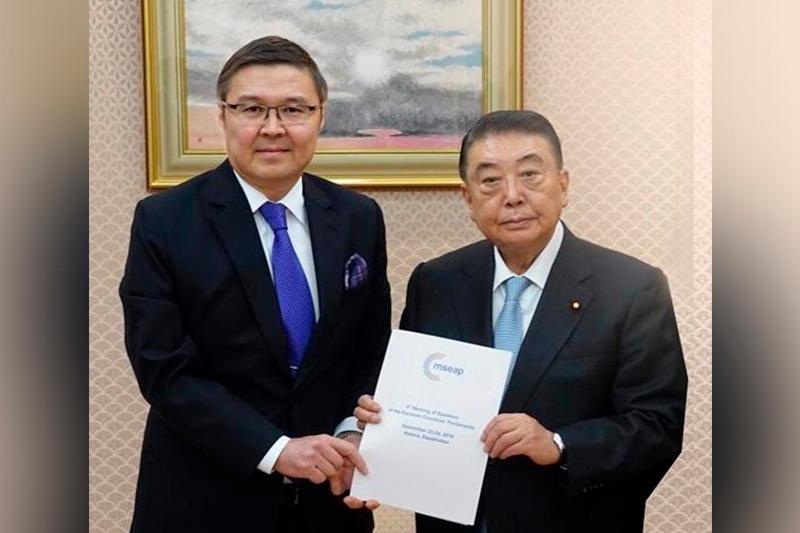 Японию пригласили на совещание глав парламентов Евразии в Астане