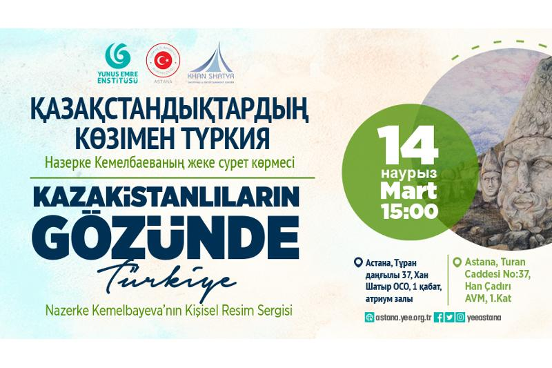 Astana to host art exhibition 'Turkey through the eyes of Kazakhstanis'