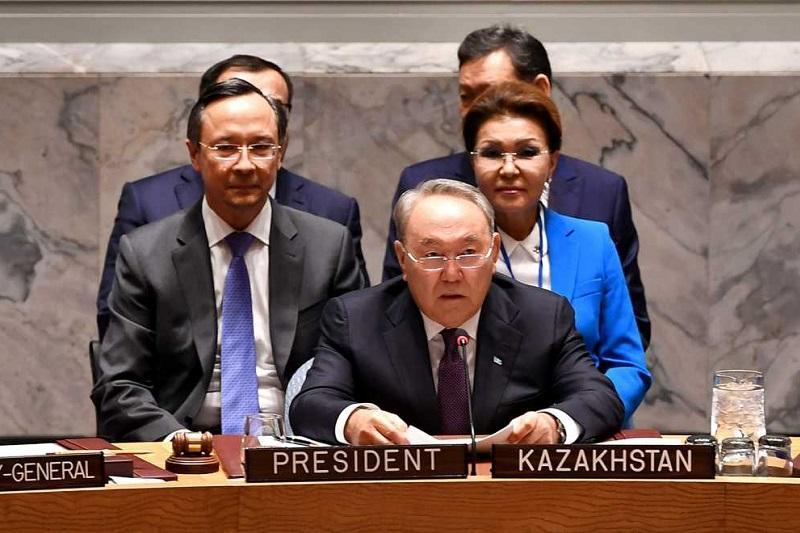 世界外交的顶峰—哈萨克斯坦在联合国安理会