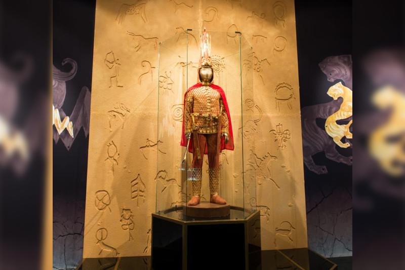 Golden Man to be showcased in Kazan