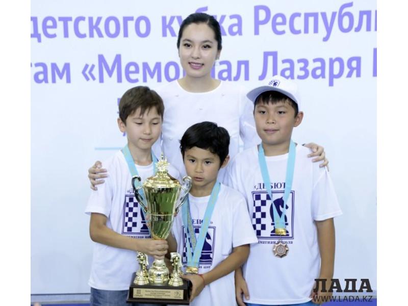 8 жасар ақтаулық шахматшы Ресей кубогын иеленді
