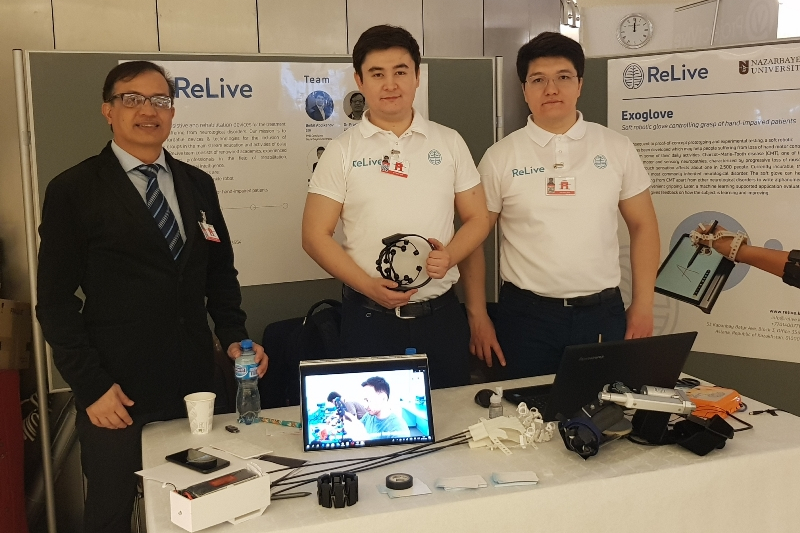 E-Health initiatives of Kazakhstan presented in Geneva
