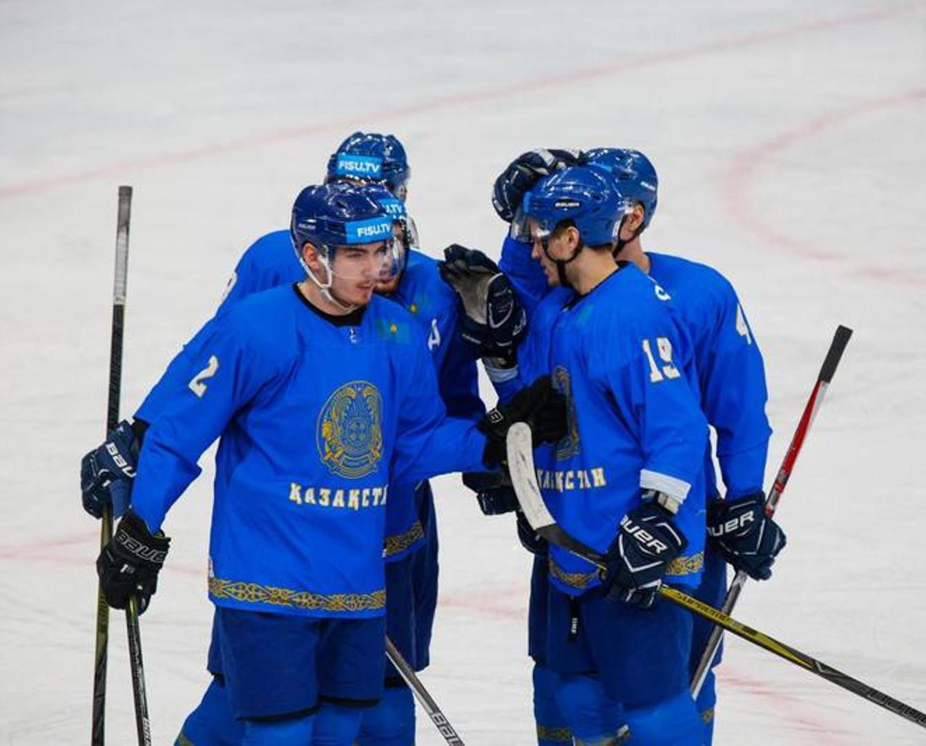 Сборная Казахстана по хоккею заняла четвертое место на Универсиаде-2019